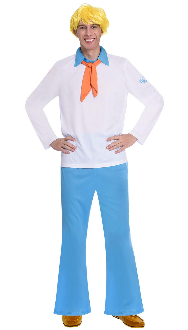 Scooby Doo Fred Adult Costume