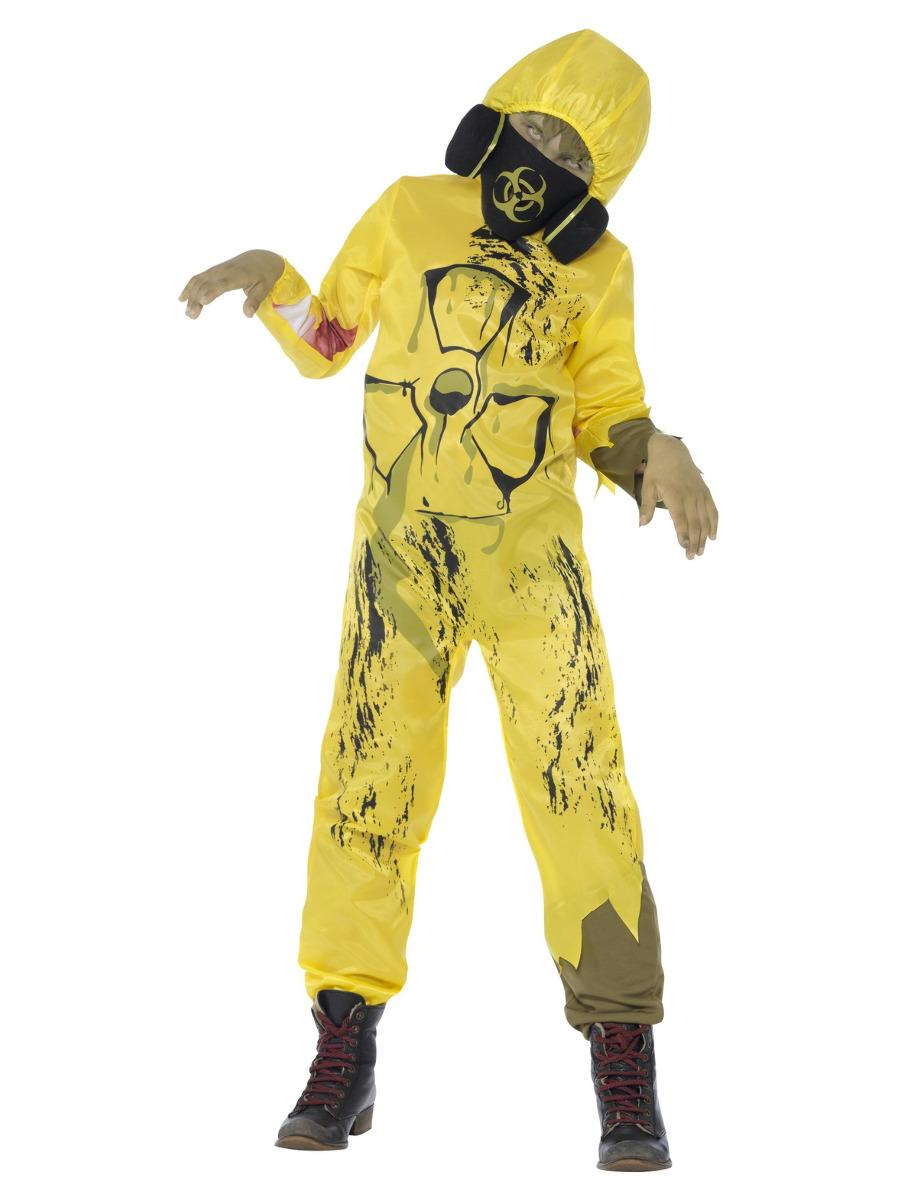Kids Toxic Waste Costume Yellow