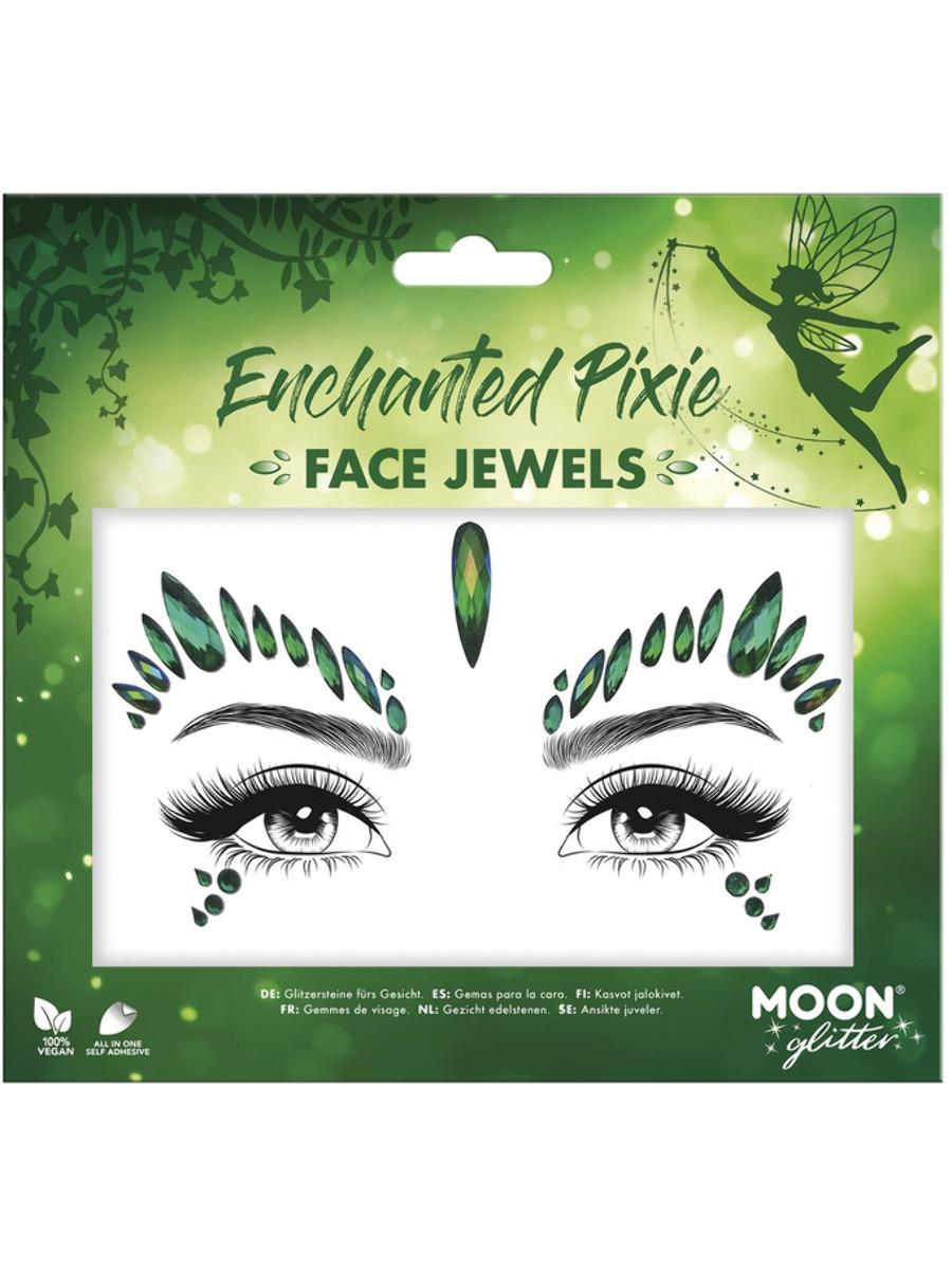 Glitter Face Jewels Enchanted Pixie