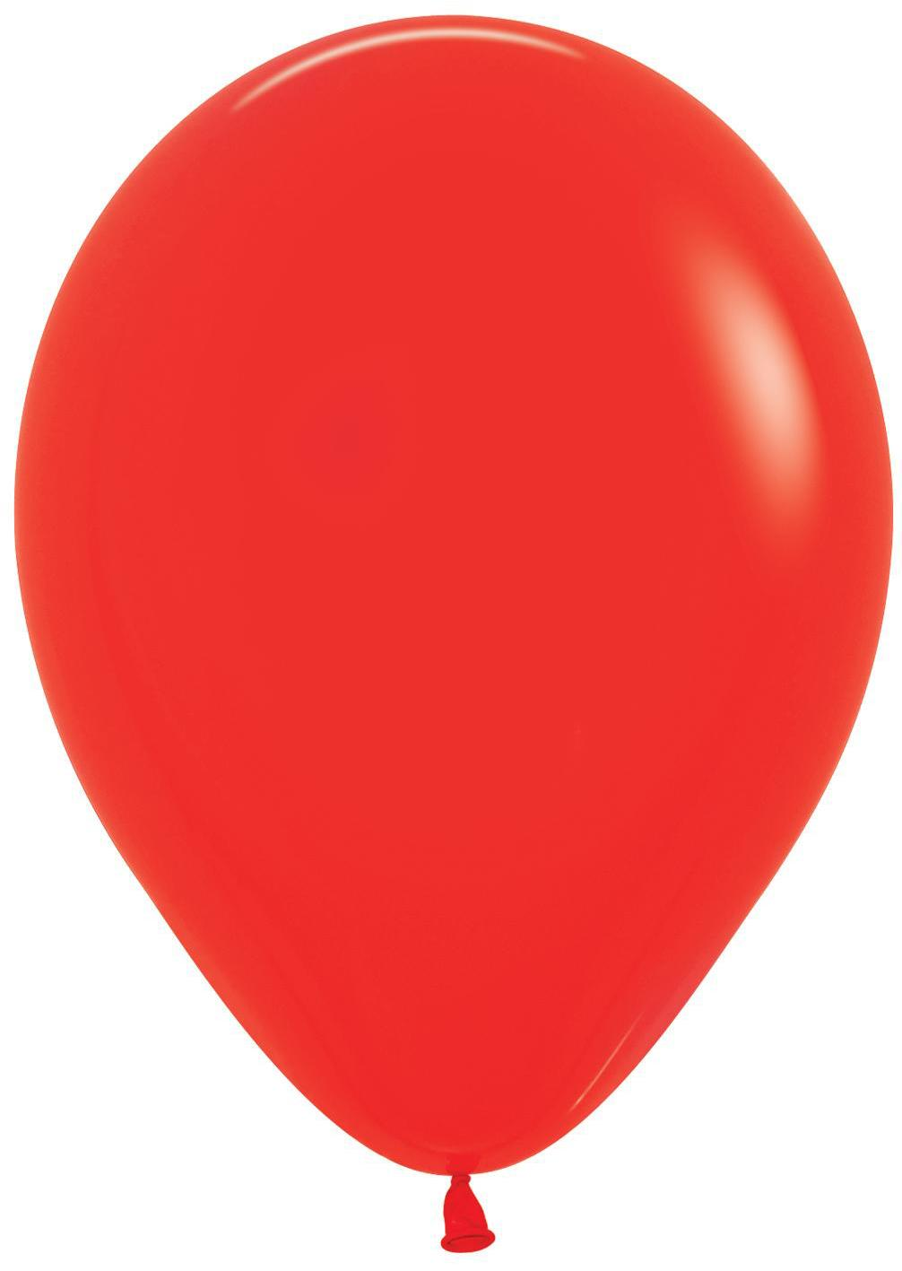 Standard Latex Balloons Red