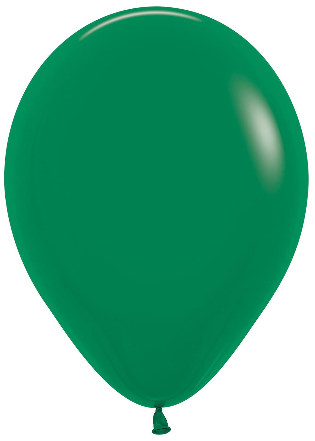 Standard Latex Balloons Green