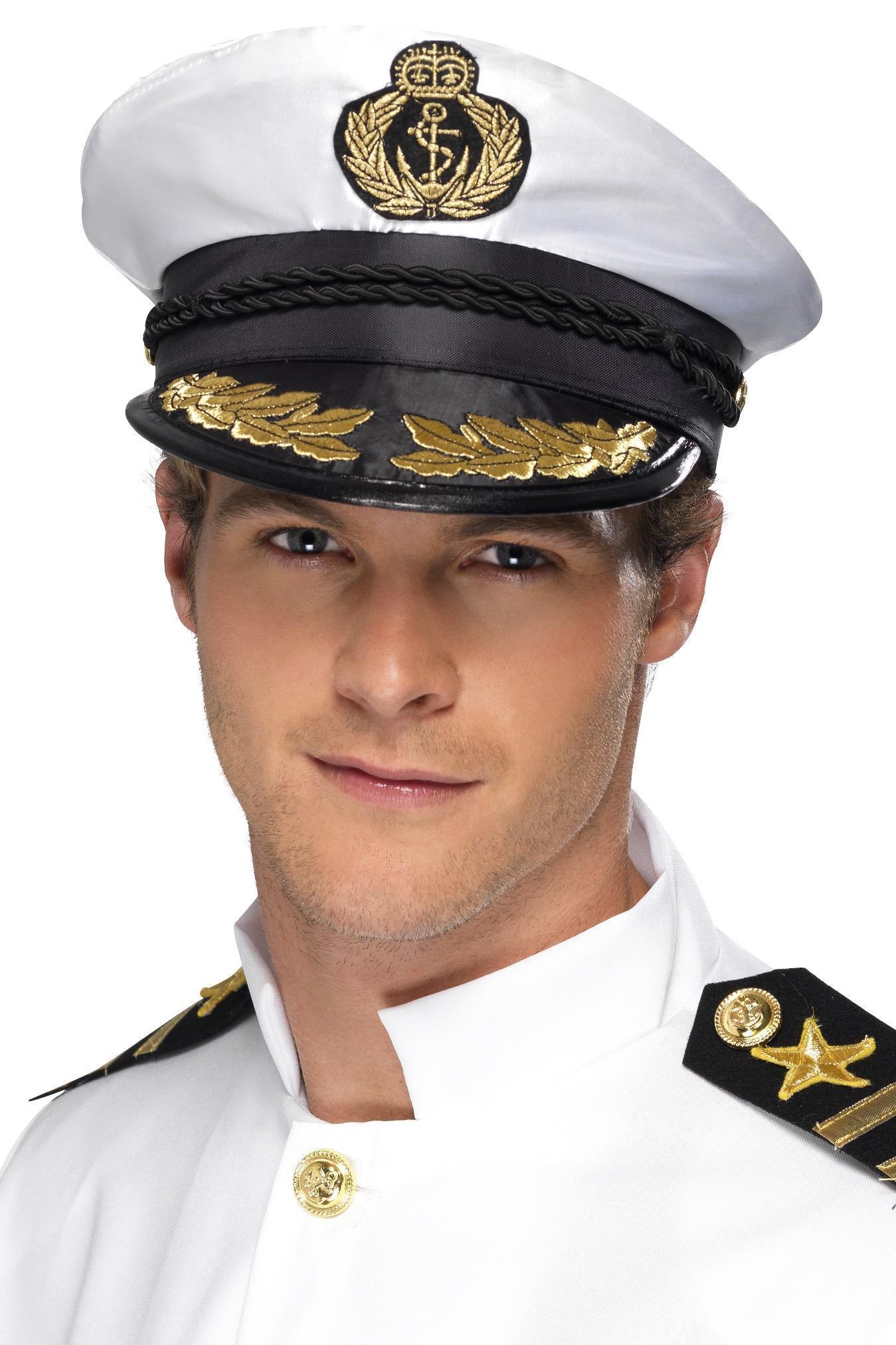 Deluxe Captains Cap