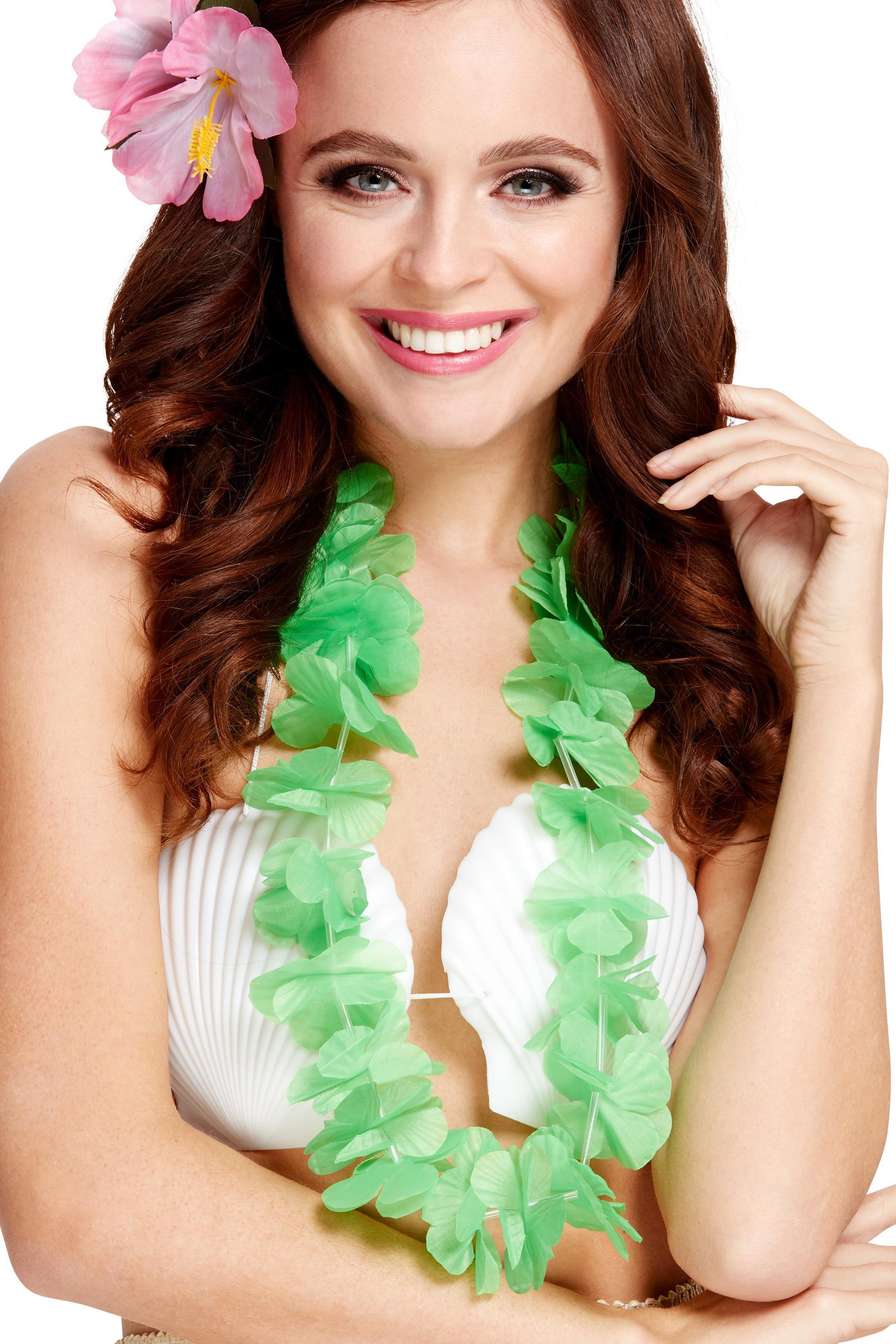 Hawaiian Lei Neon Green