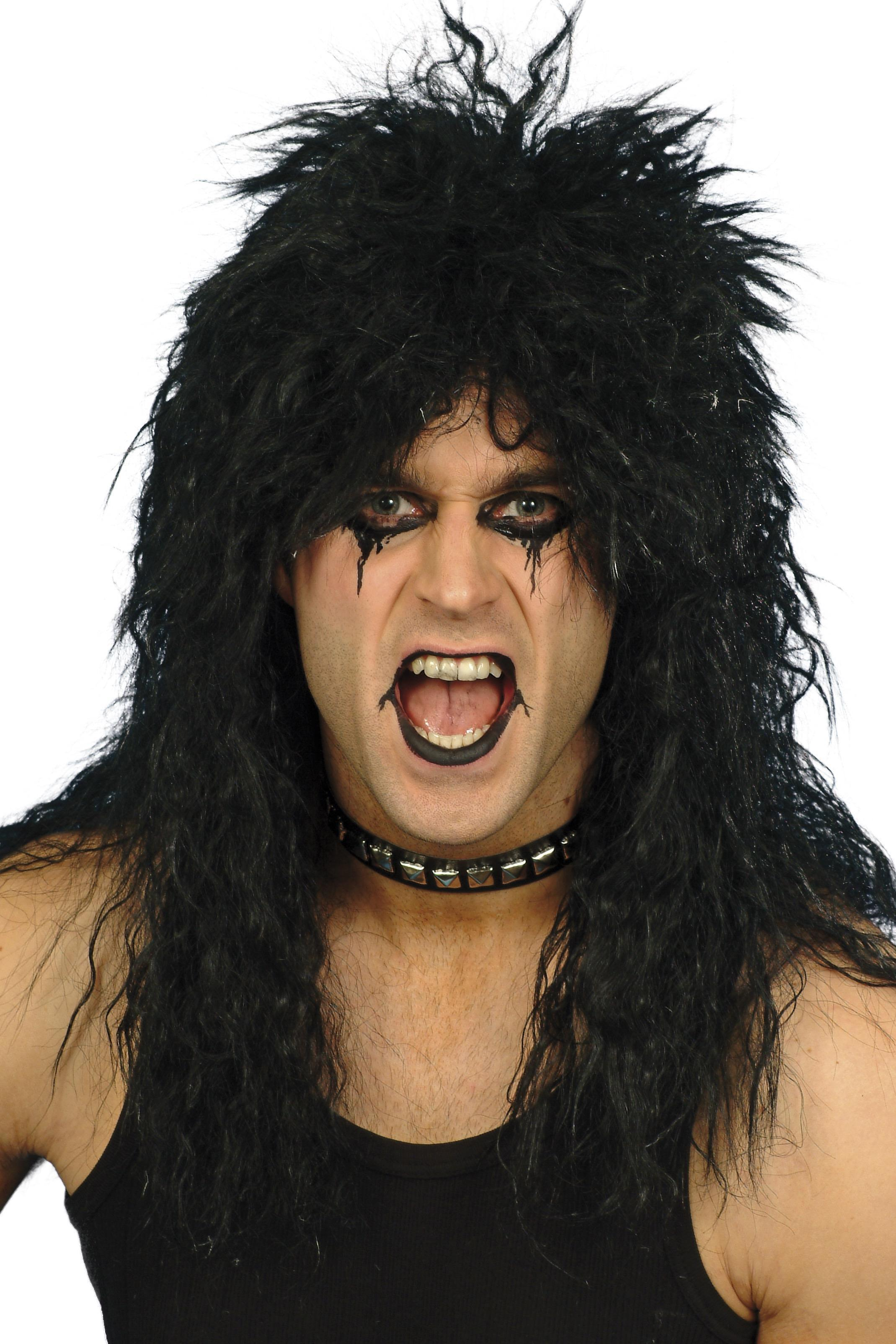Hard Rocker Wig Black