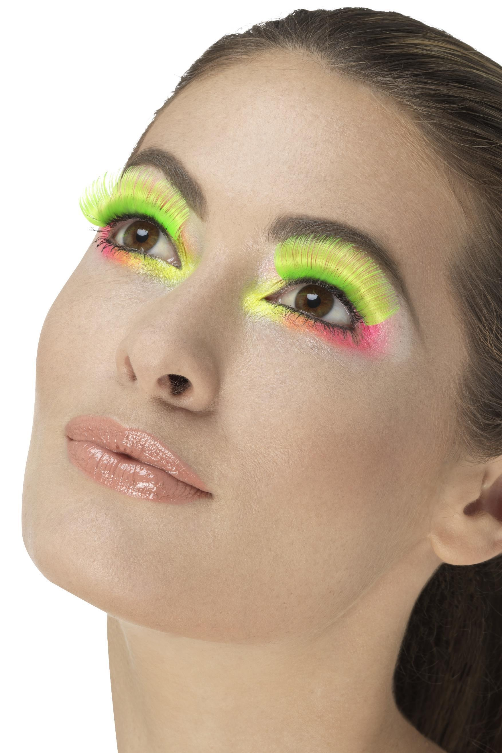 Party Eyelashes Neon Green