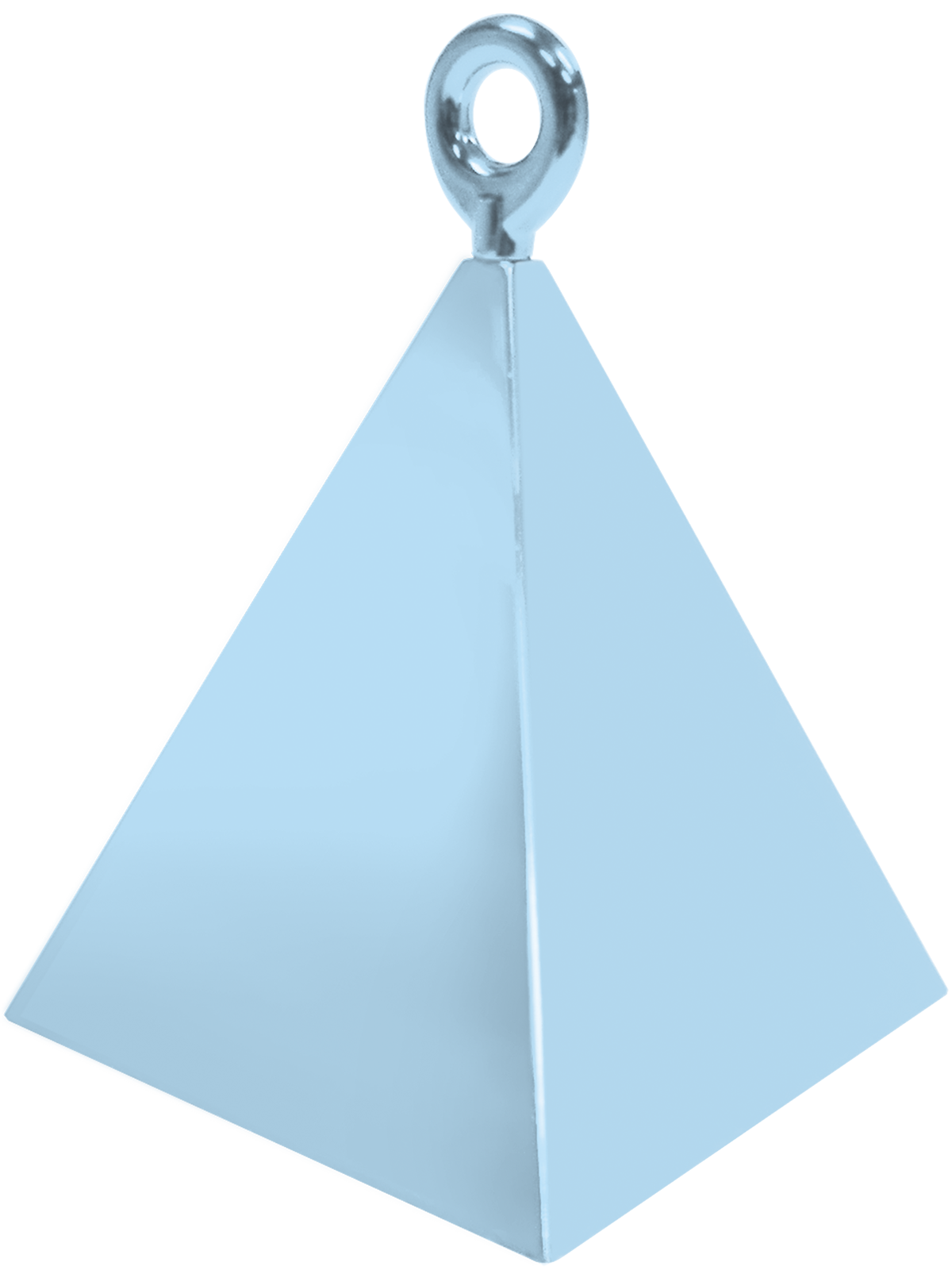 Pyramid Balloon Weight Blue