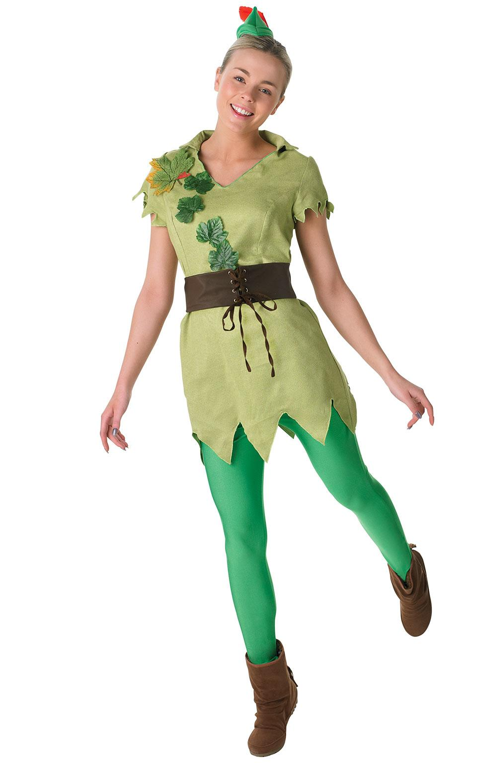 Peter Pan Costume Ladies Adult