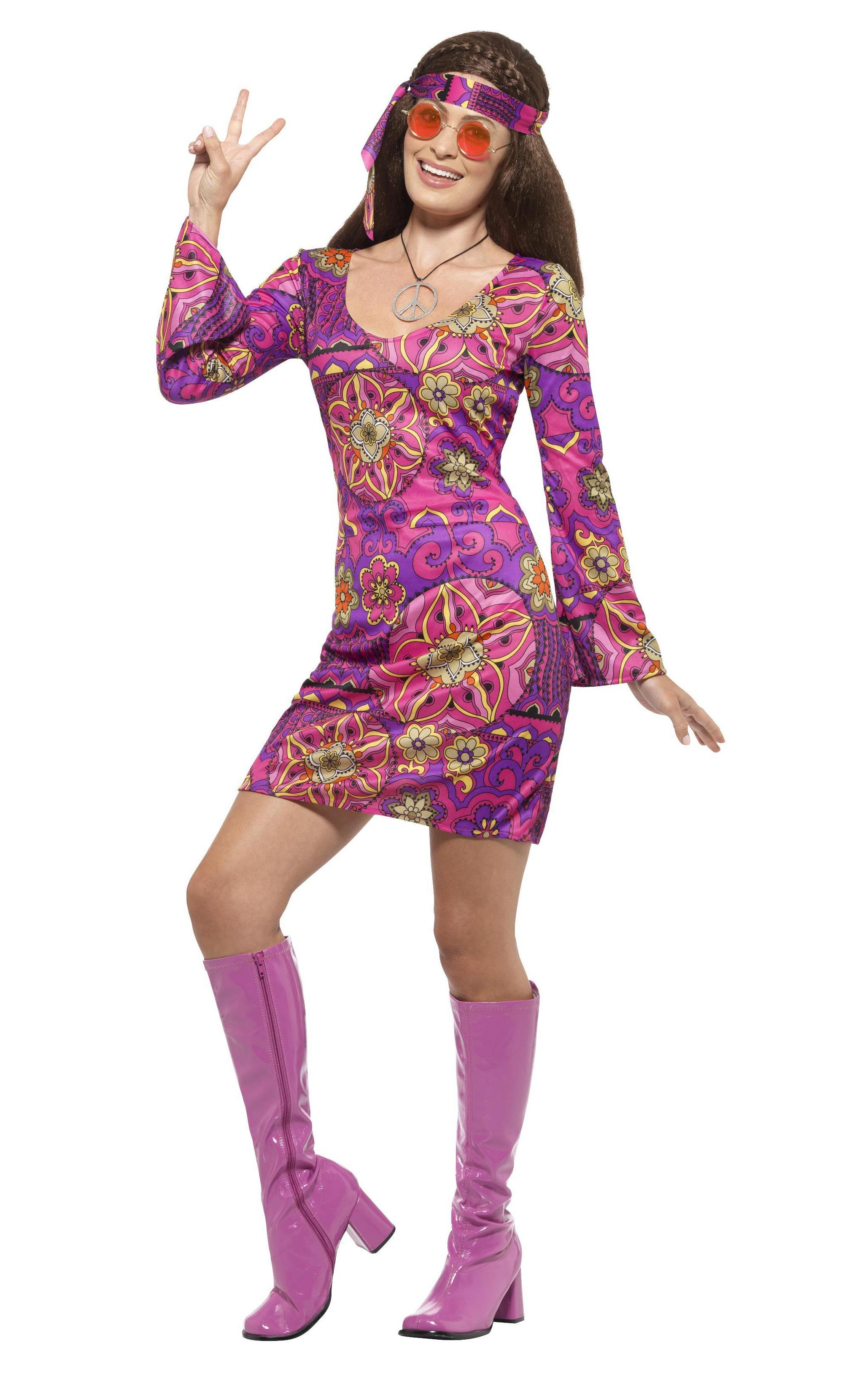 60s Woodstock Hippie Chick Costume