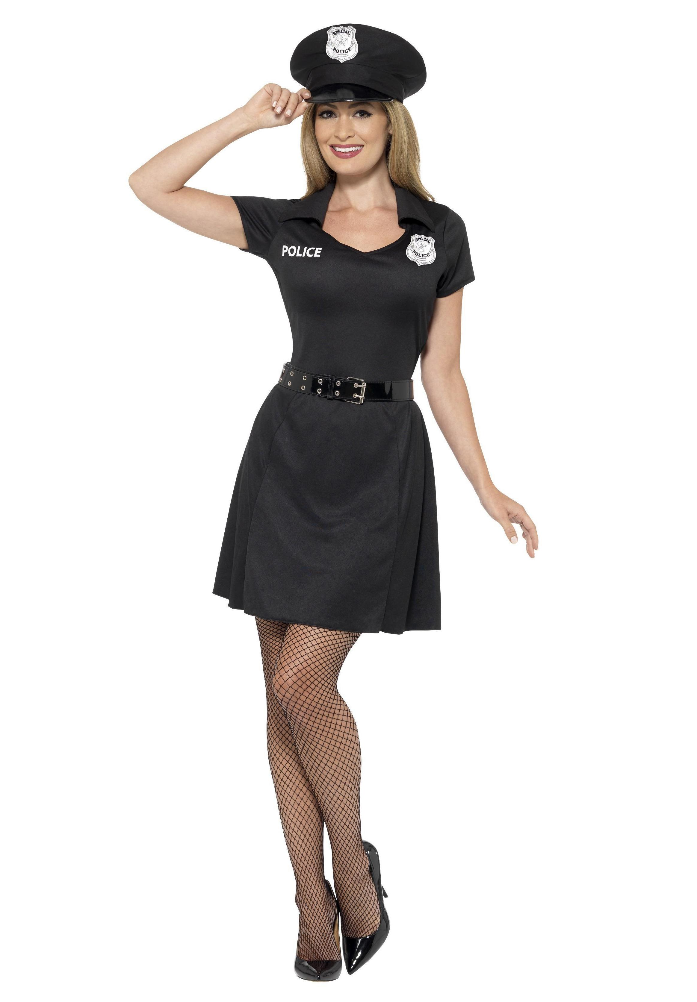 Special Constable Costume Black