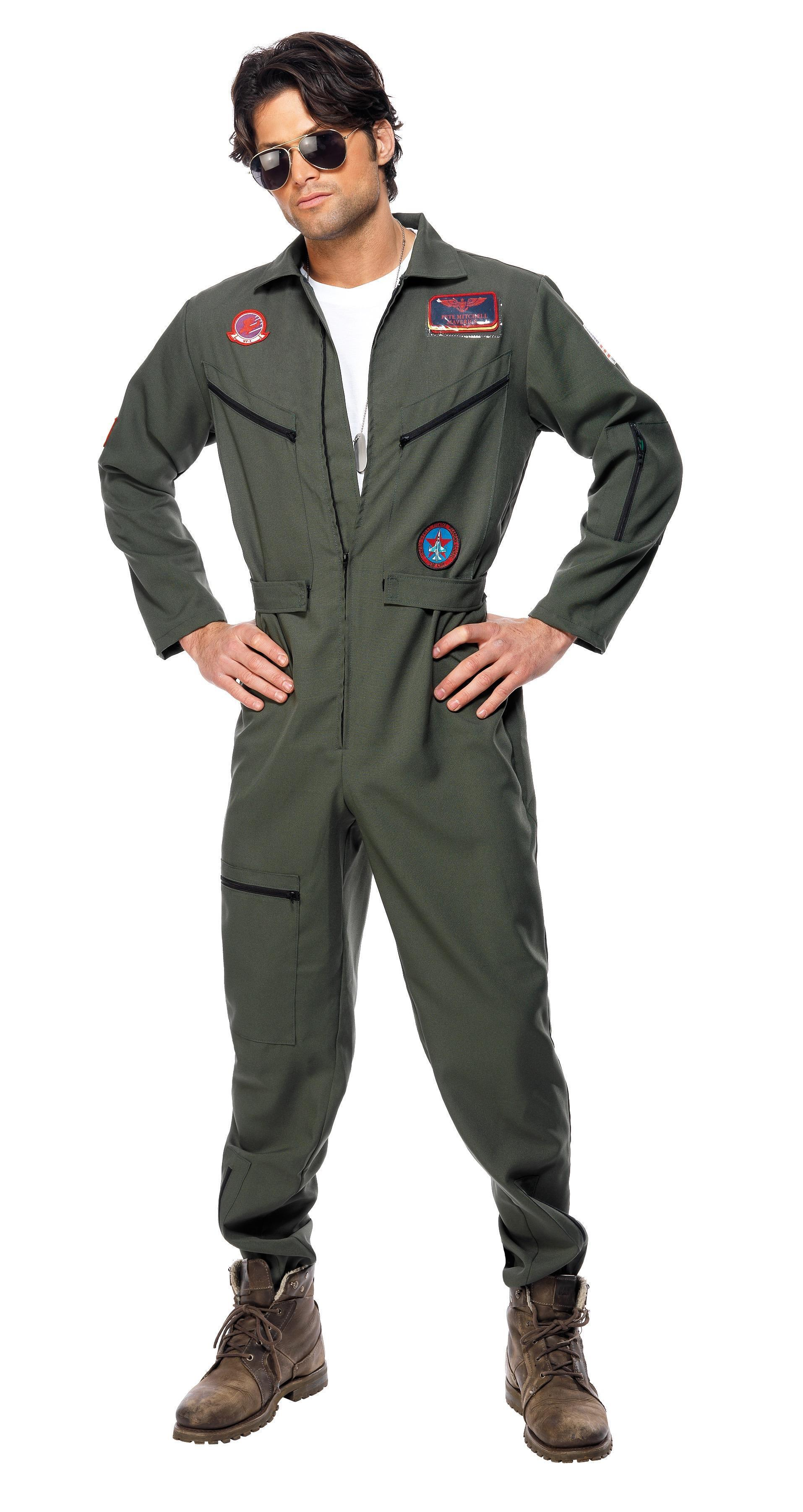Top Gun Costume Green