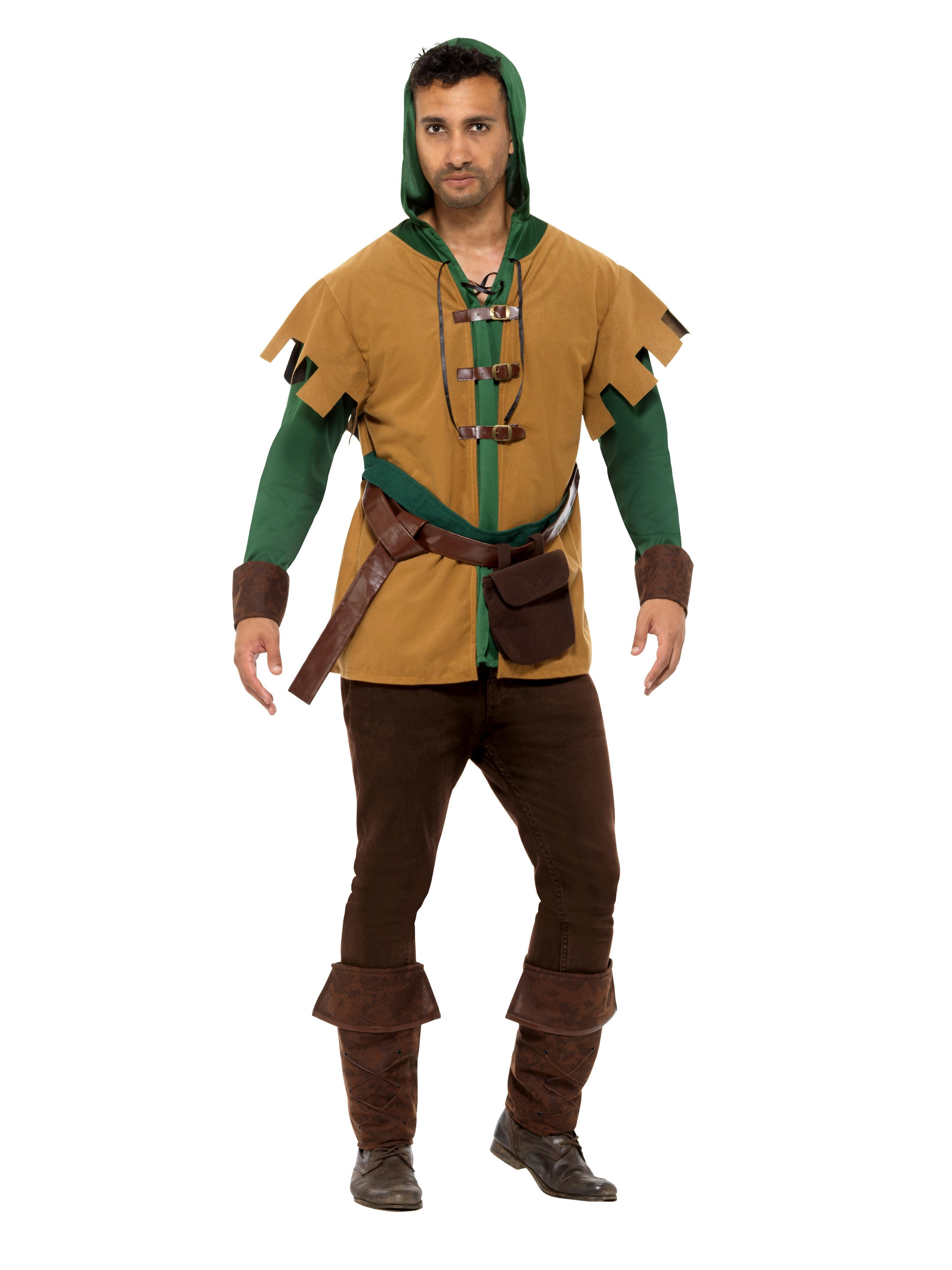Robin Of The Hood Costume Green