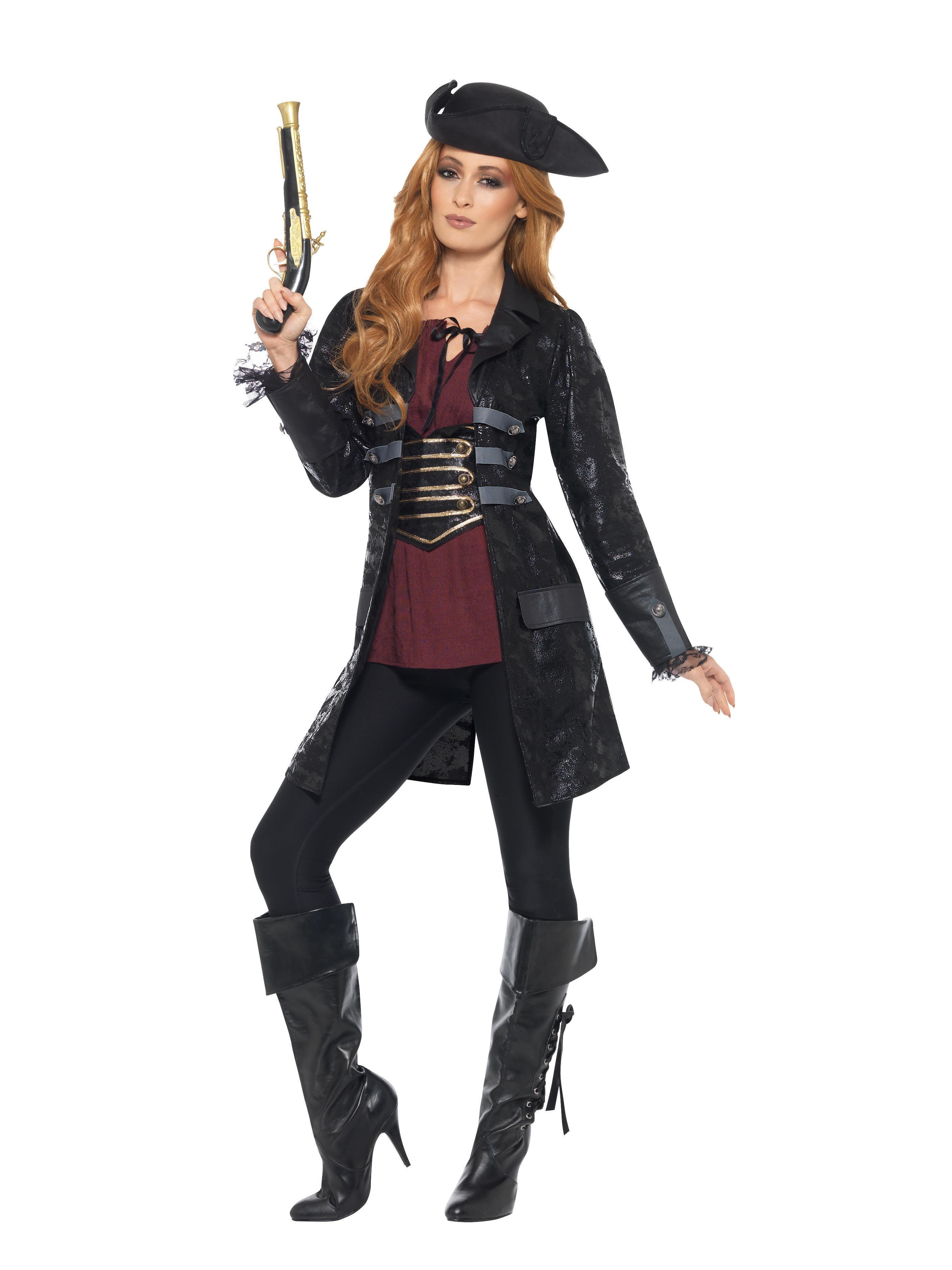 Pirate Jacket Ladies Black