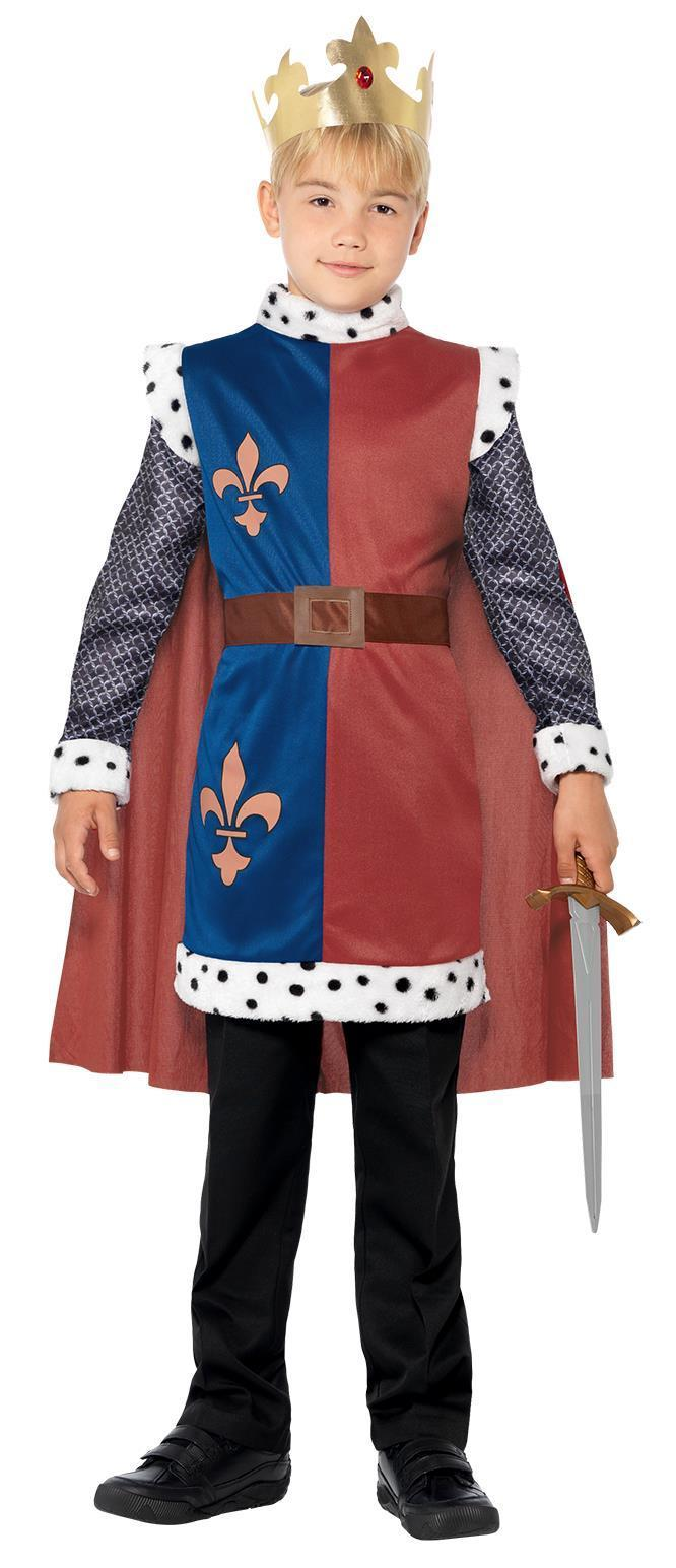 Kids King Arthur Medieval Costume