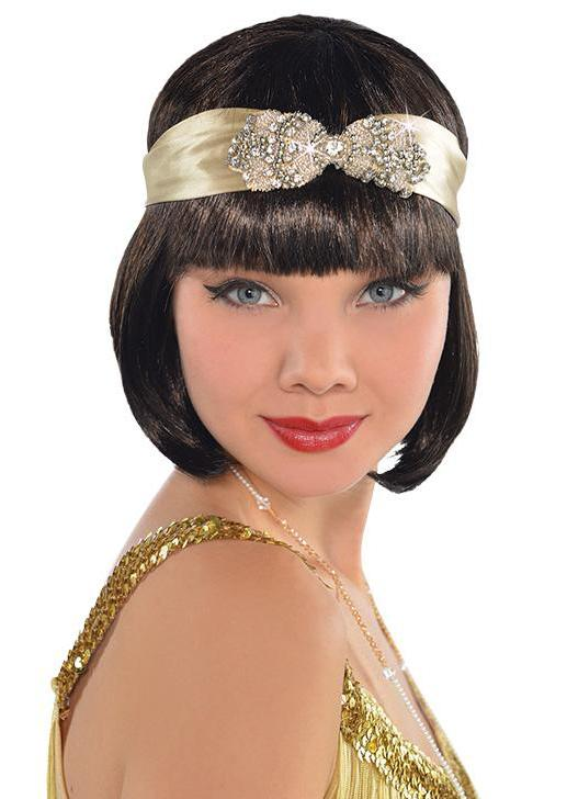 Flapper Headband Gold