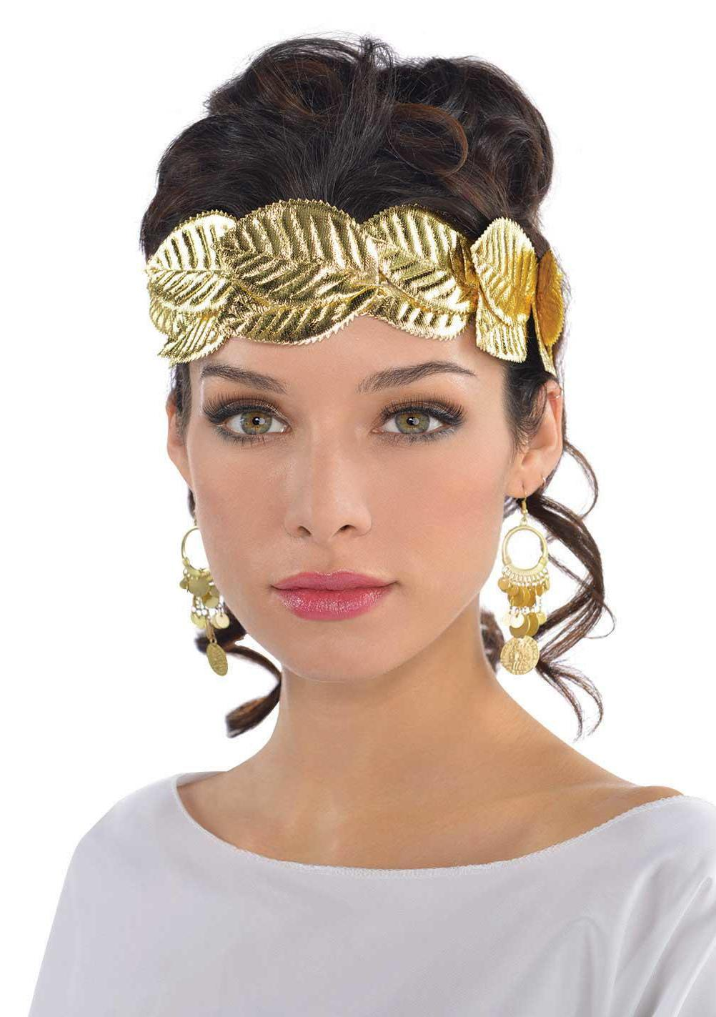 Laurel Leaf Wreath Headband Gold