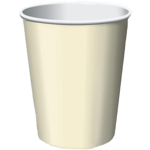 Paper Cups Vanilla Cream 8 Pack