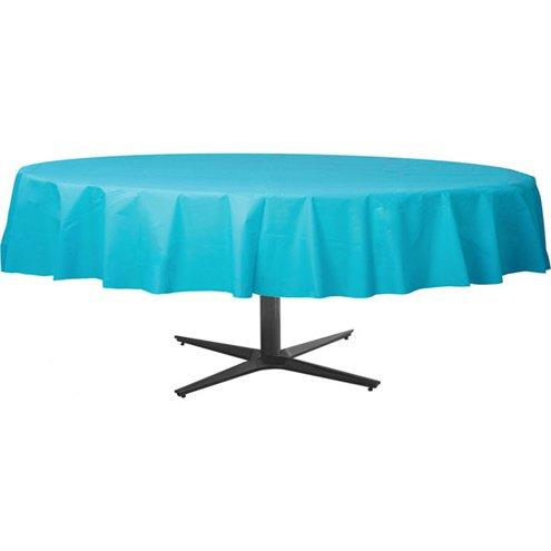 Table Cover Caribbean Blue Round