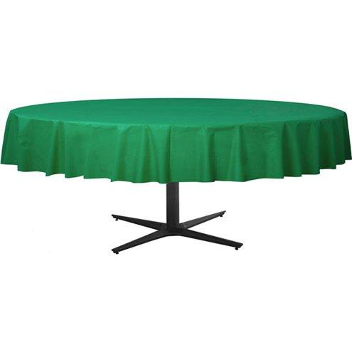 Table Cover Festive Green Round