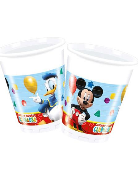 Plastic Cups Mickey Mouse