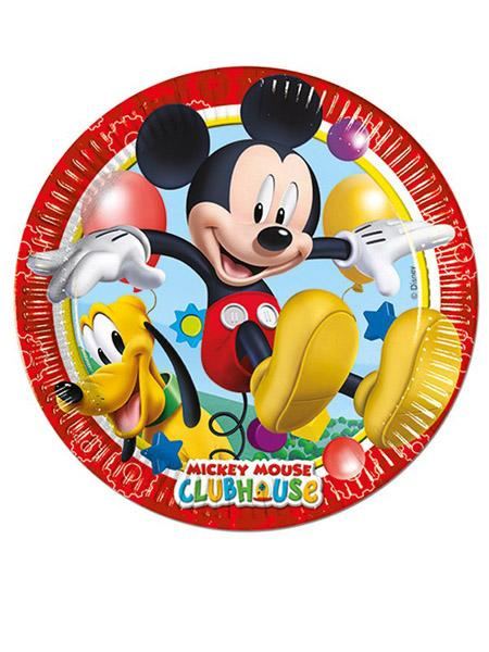 Paper Plates Mickey Mouse