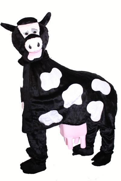 Pantomime Cow Mascot Hire Costume