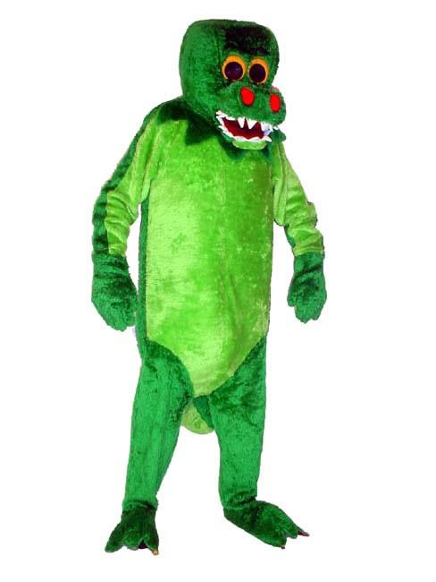 Crocodile Mascot Hire Costume