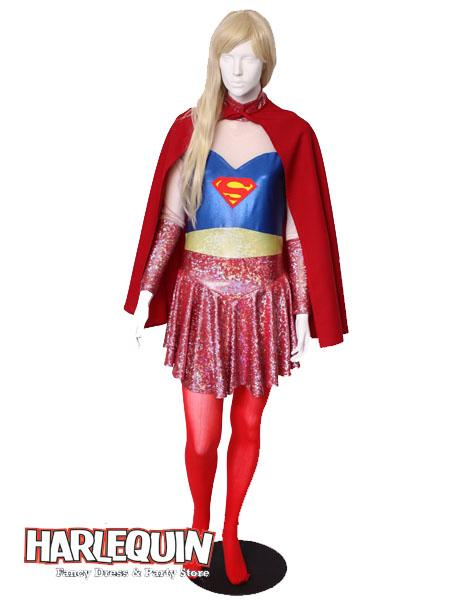 Supergirl Style Hire Costume