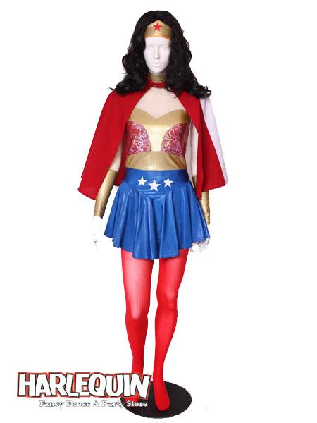 Wonder Woman Style Hire Costume