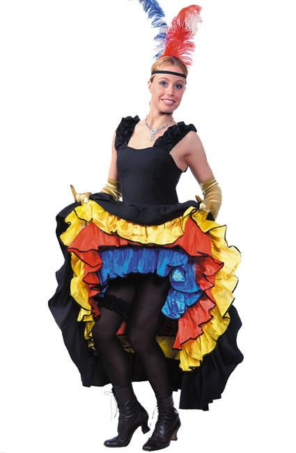 Moulin Rouge Hire Costume 1