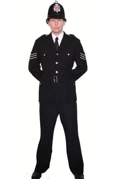 Policeman Hire Costume