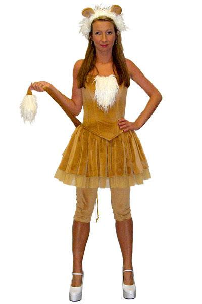 Sexy Lion Hire Costume