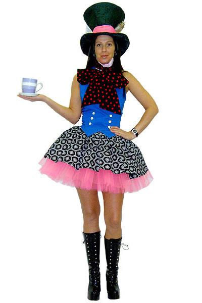 Sexy Mad Hatter Hire Costume
