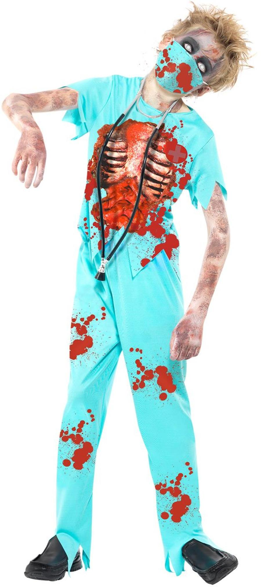 Kids Zombie Surgeon Costume