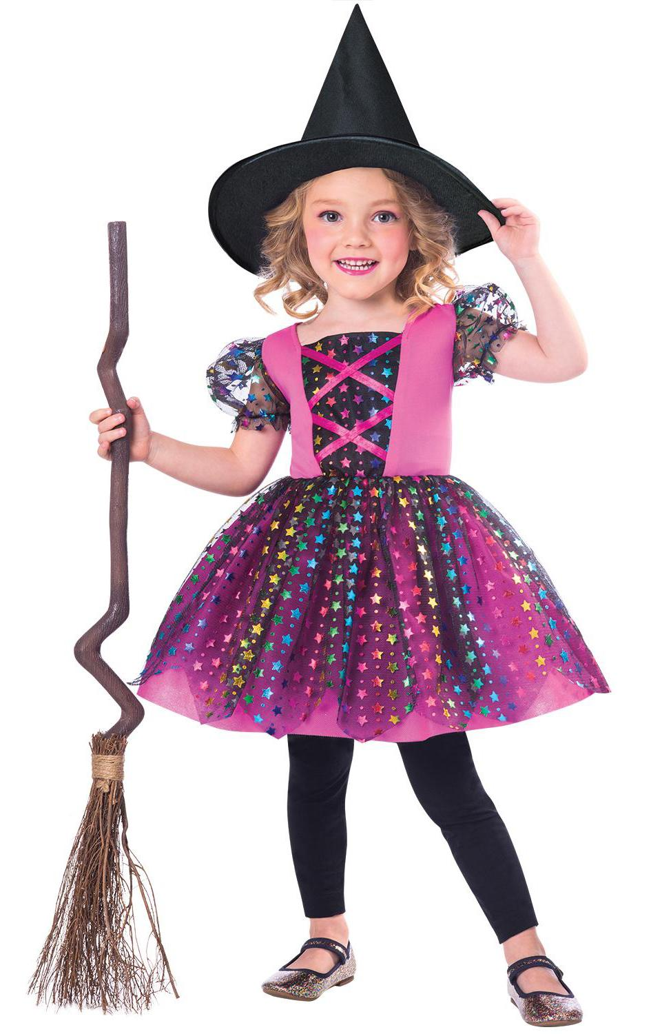 Rainbow Witch Costume