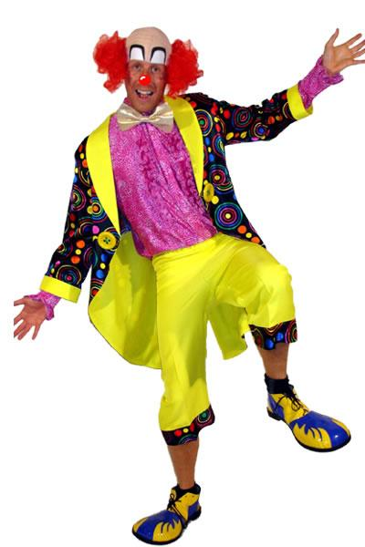 Colourful Clown 2 Hire Costume