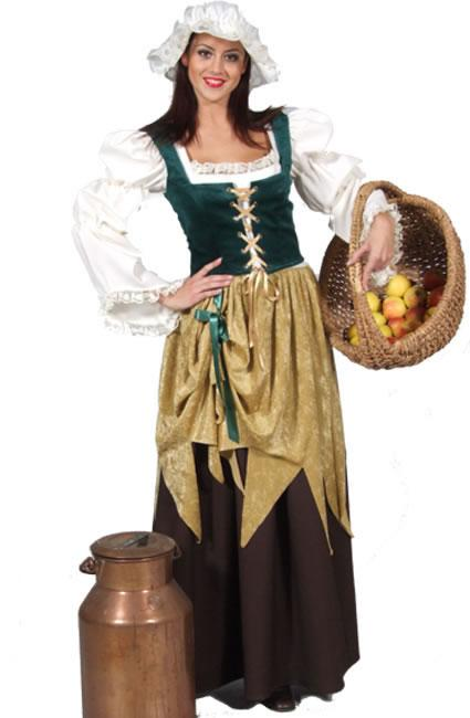 Medieval Wench 1 Hire Costume