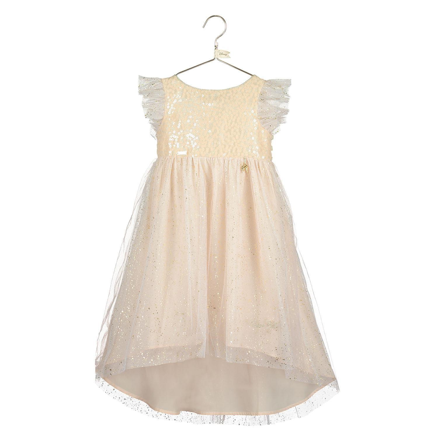 Tinker Bell Sparkle Dress with Drip Hem