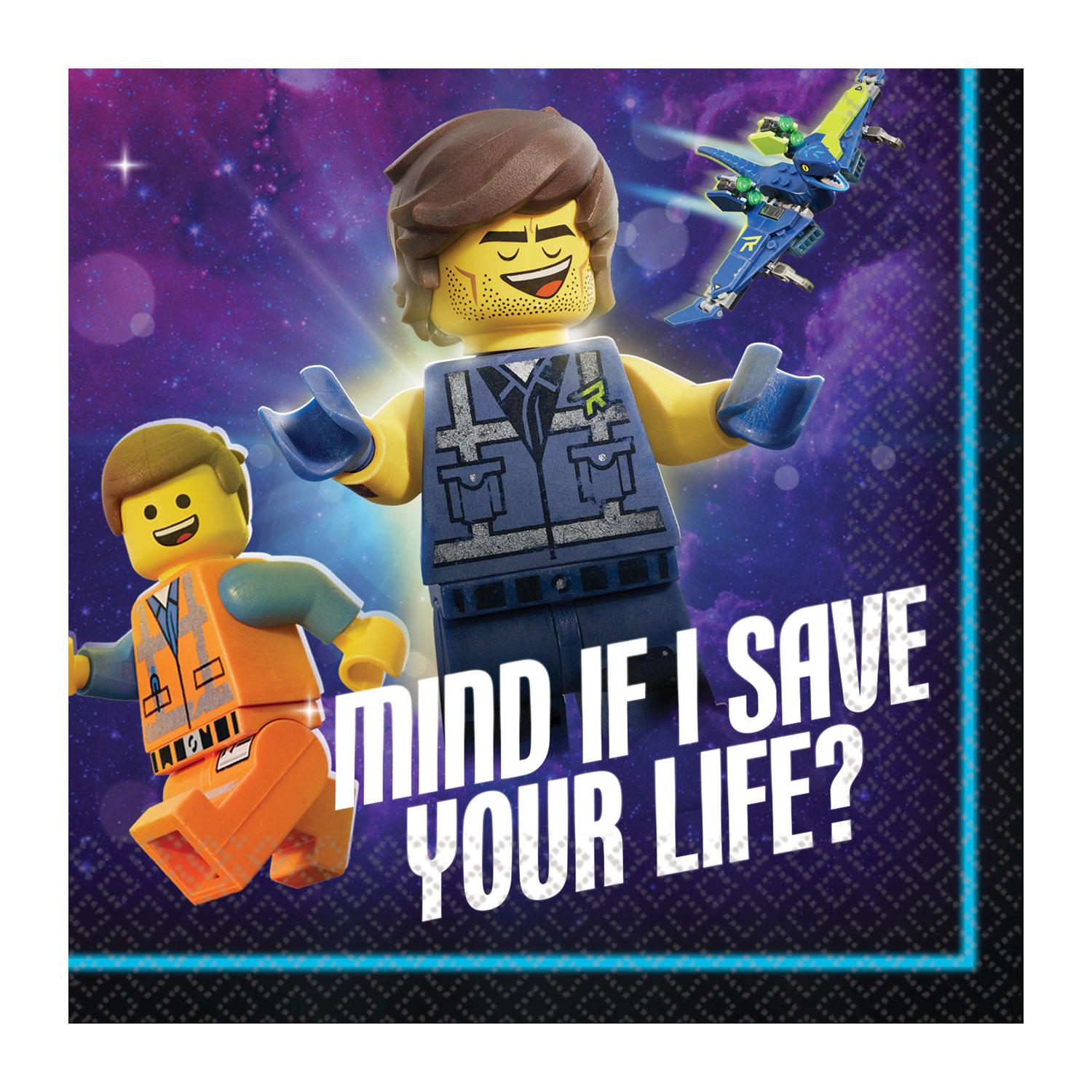 Paper Napkins Lego Movie 2