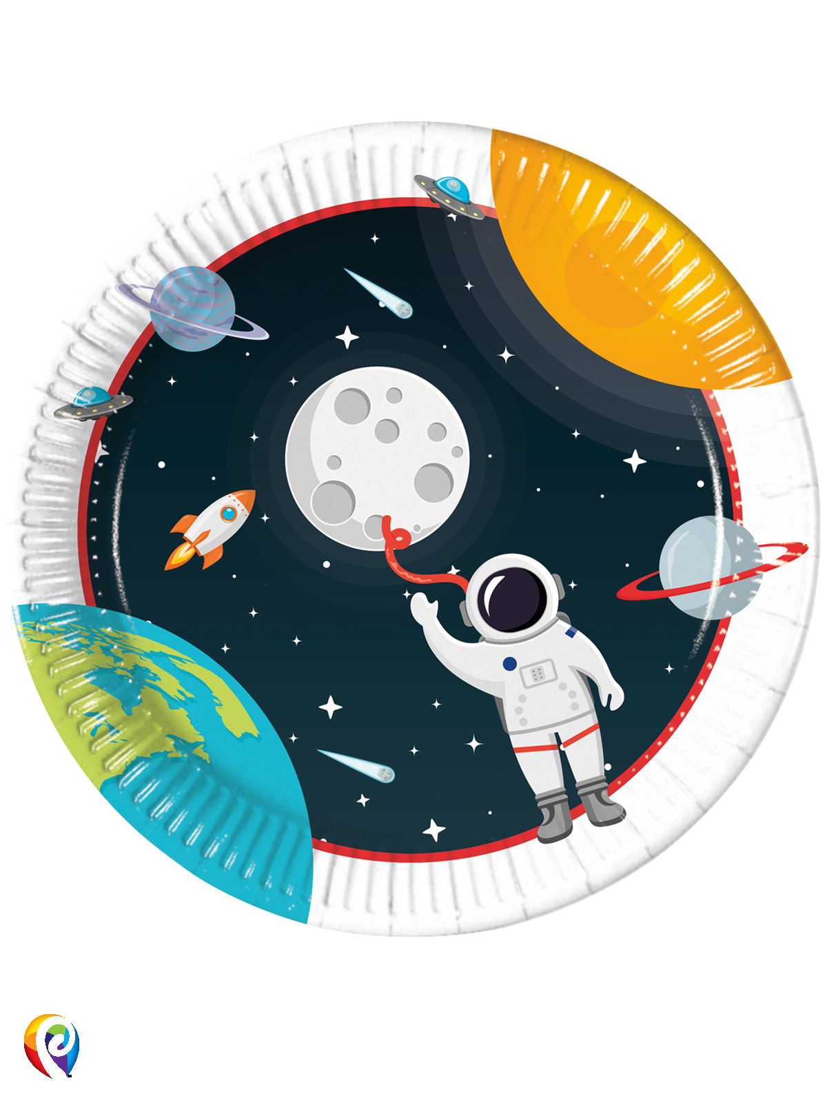 Paper Plates Outer Space