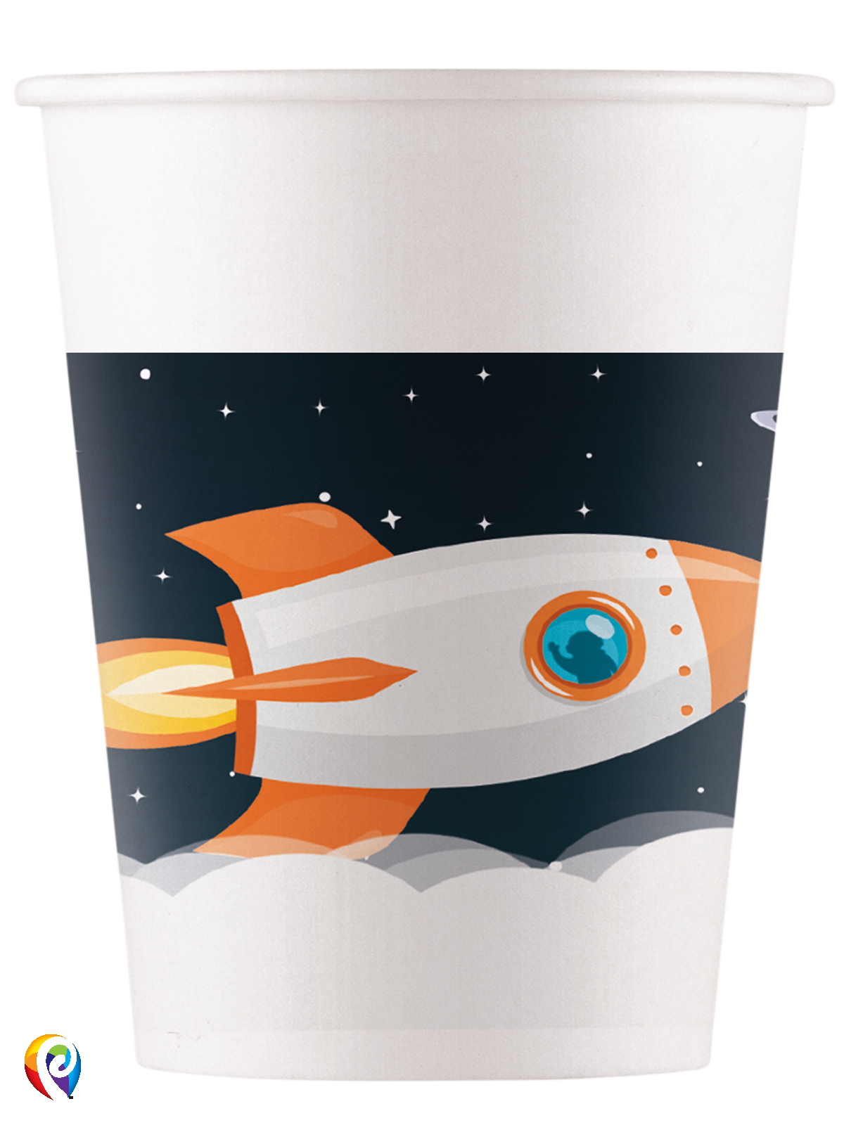 Paper Cups Outer Space