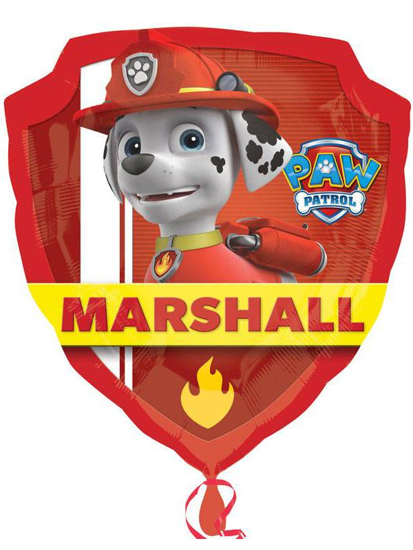 Foil Balloon Paw Patrol Chase & Marshall