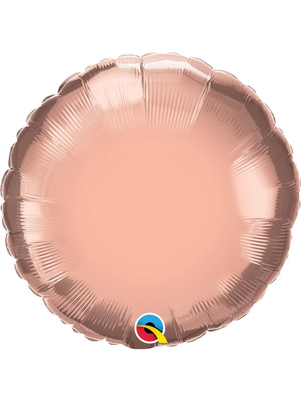 Foil Balloon Round Rose Gold