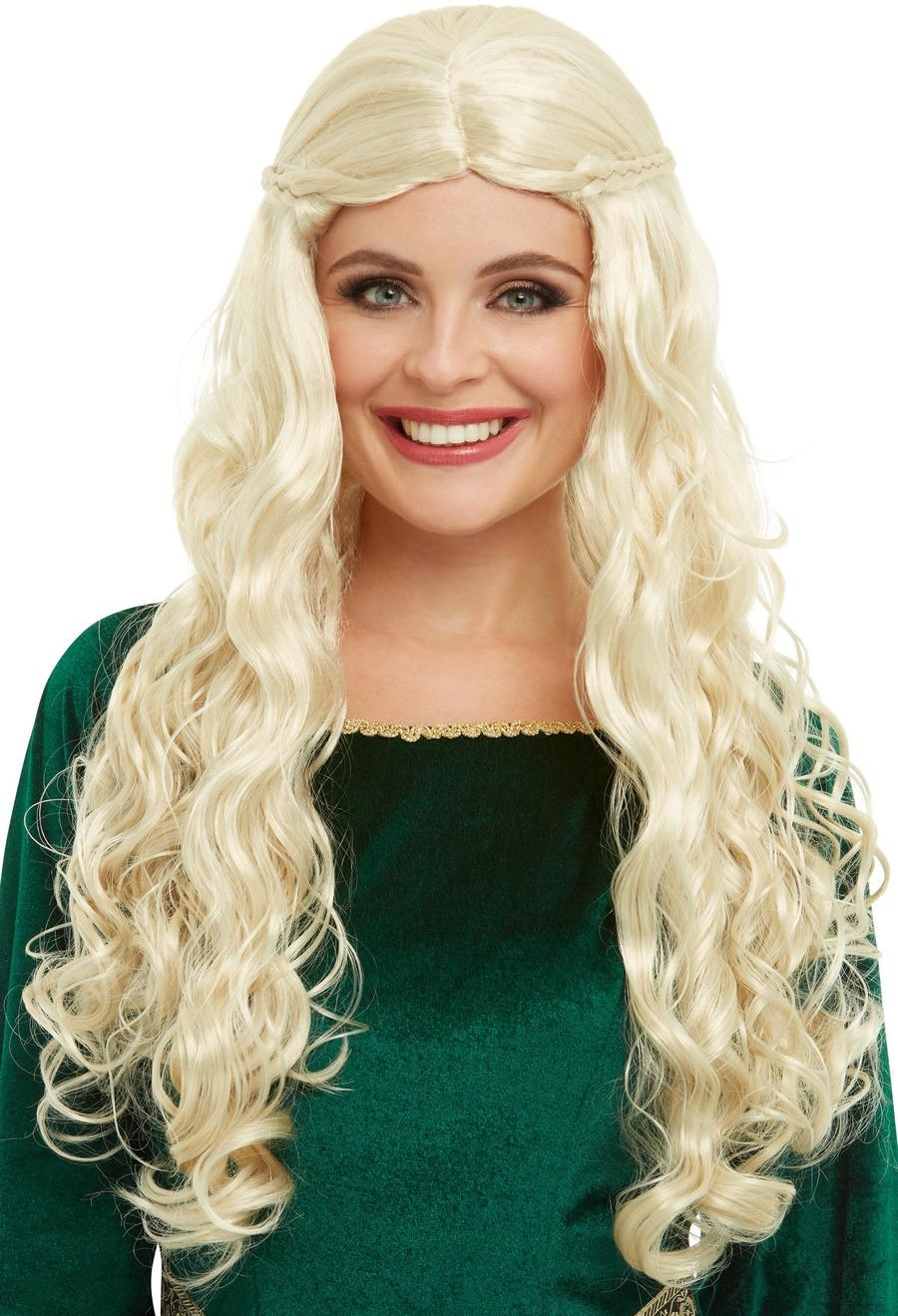 Medieval Dragon Goddess Wig Blonde