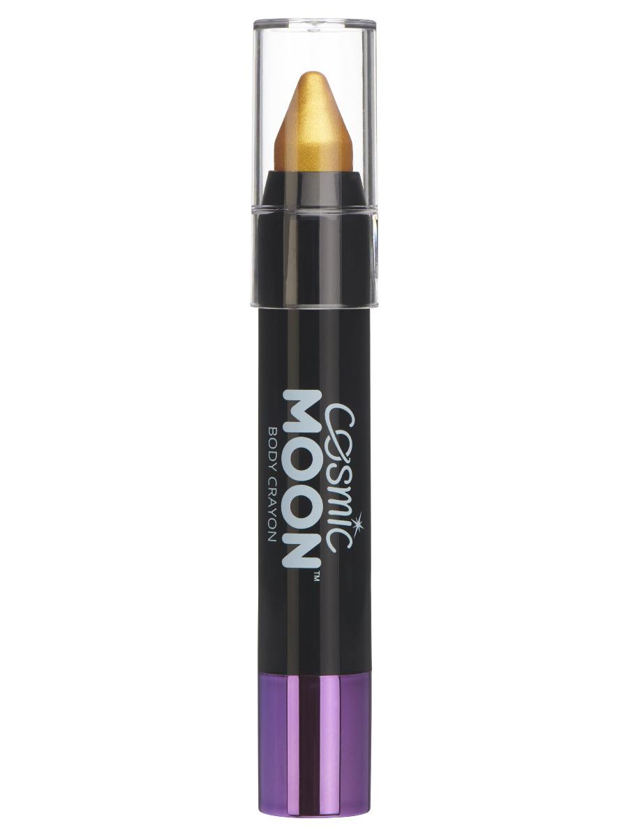 Moon Creations Metallic Body Crayon Face Paint Gold
