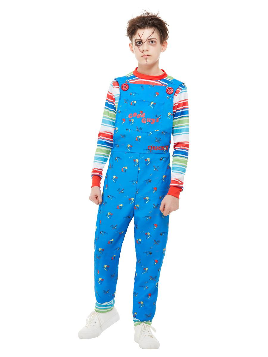Kids Chucky Costume Dungarees