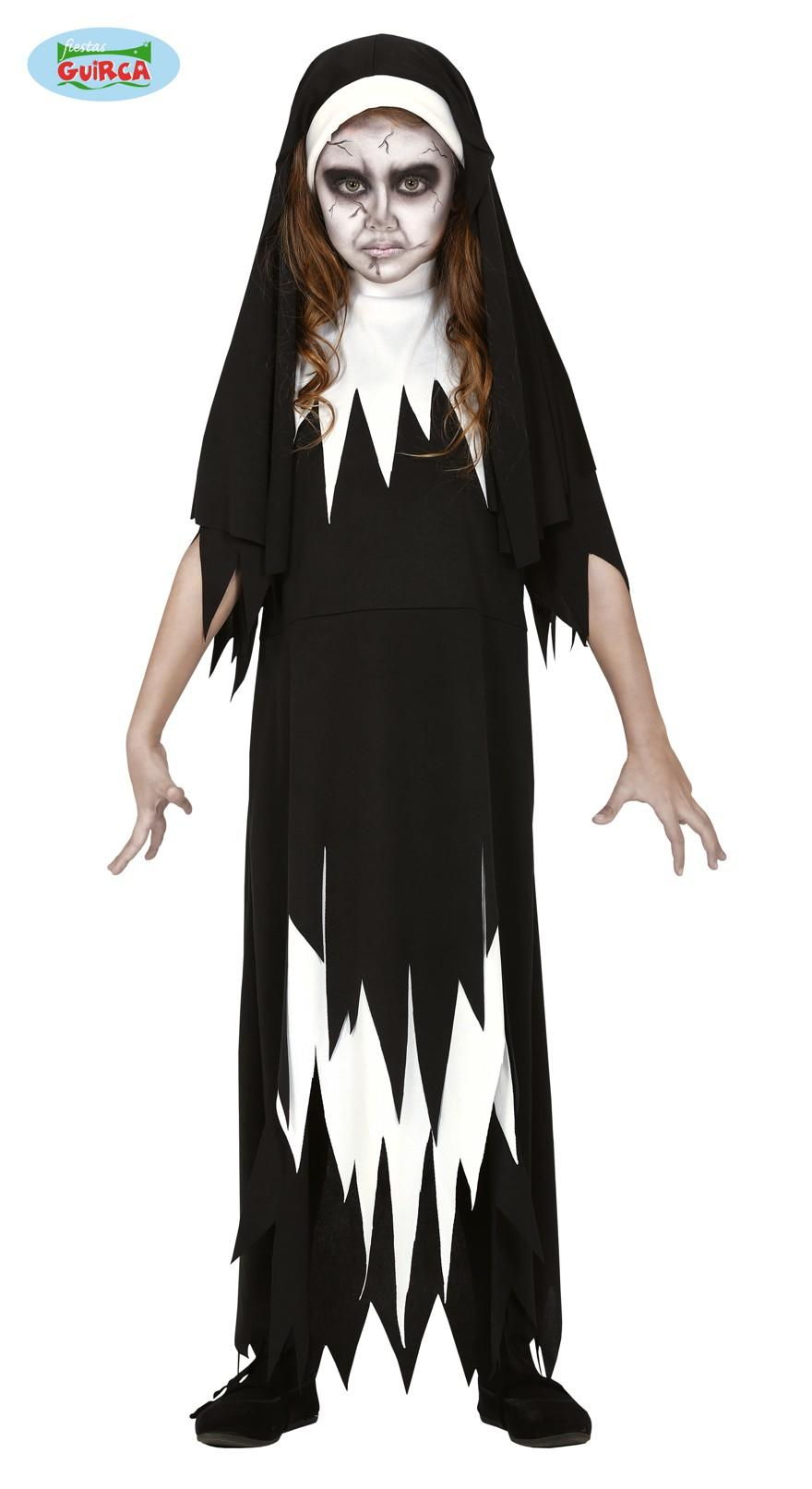 Kids Scary Nun Costume