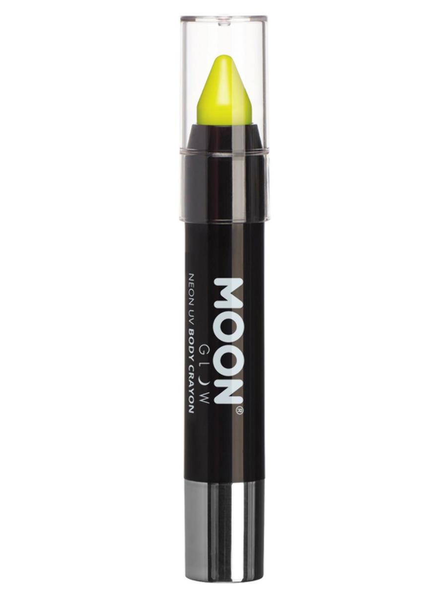 UV Face Paint Stick Neon Yellow