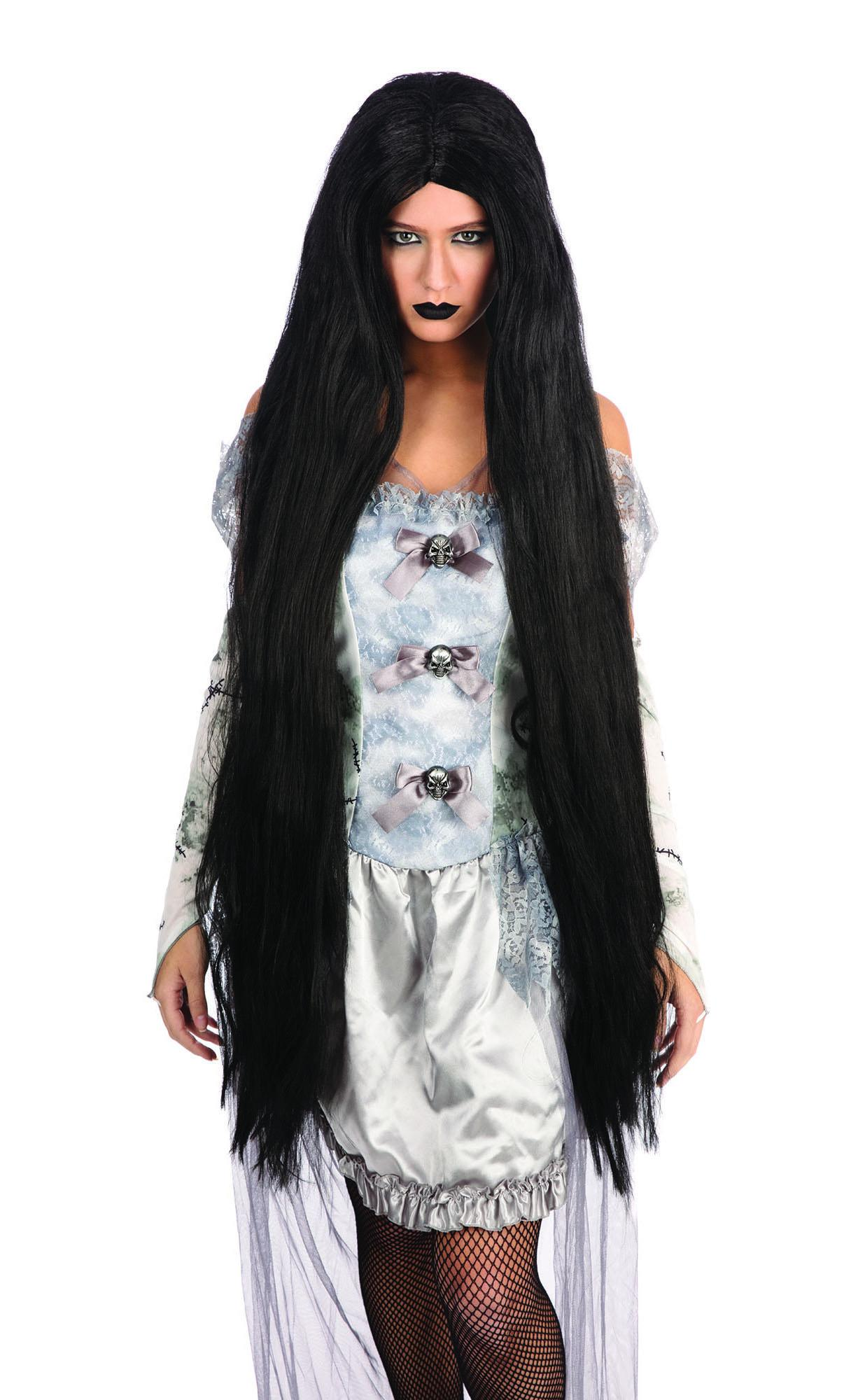 Extra Long Wig Black