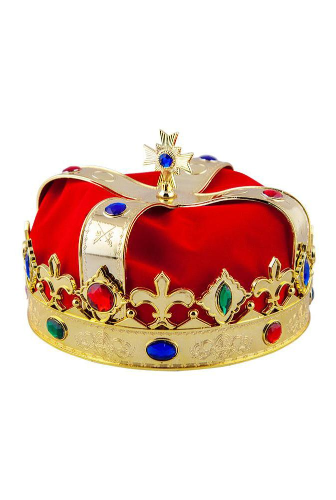 Royal Crown Red with Jewels