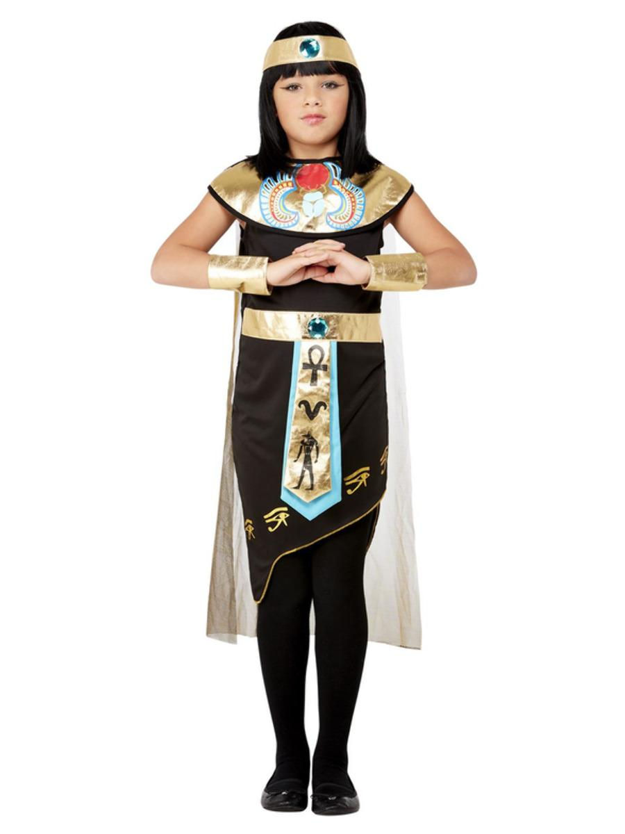 Kids Egyptian Princess Costume Black